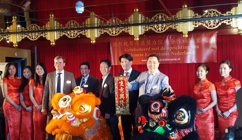 Oprichting Chinese krediet Unie Nederland